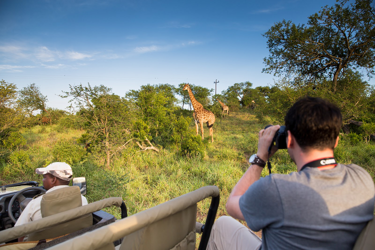 Tourist on a Kenya Safari with MasaiMarasafari.in.